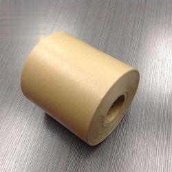 Doppeltes versah Kraftpapier-Freigabe-Papier für Kennsatz mit Seiten