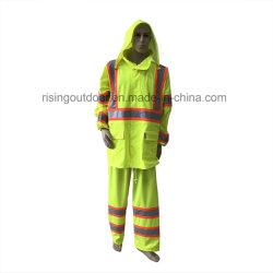En1149 el destello de arco eléctrico traje de protección antiestática Rainwear