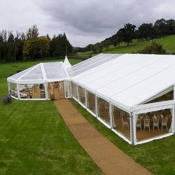خيام لحفلة زفاف حفلة مع سقف شفاف ألومنيوم