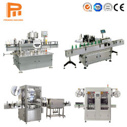 플라스틱 병을%s PVC 수축 레이블 기계를 레테르를 붙이는 자동적인 OPP 최신 용해 접착제