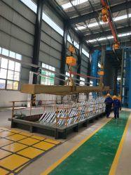 Venta caliente automático L Círculo de forma chapado Rack HDG planta de producción
