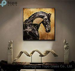 Peinture sur verre / Bureau de l'image Wall Hanging peinture sur verre (MR-YB6-2018)