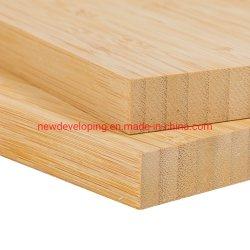 공장가격 1 Ply Bamboo 합판은 19mm를 생산한다 데스크톱에 수직 사용