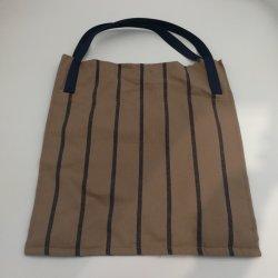 Baumwolle in Garn-gefärbte Farbe Streifen Einkaufstasche