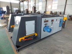 Separatore a corrente continua per la separazione dei rifiuti solidi di chiodi e acciai da ferro da macchine frantumate.