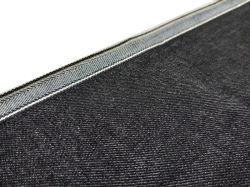 12,3 унц высокое качество черный эластичные джинсовой ткани женских Raw режущую контрпланку джинсовой W93429