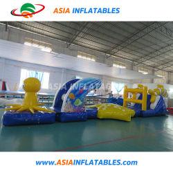 Amazing fun de l'eau gonflable obstacle commercial jeux du parc de l'eau