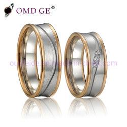 Sterlingsilber-Hochzeits-Ring-Schmucksache-Fabrik ODM-Soem des Diamant-925