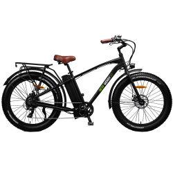 بيع ساخنة عالية الجودة Brushless 750 وات الدهون تاير الكهربائية الدراجة الجبلية