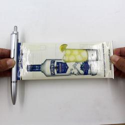 Publicidad Flyer Pen con logotipo personalizado saque Lápiz Banner