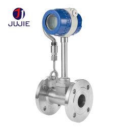 流れメートルの蒸気窒素の圧縮空気水下水のガスの液体のための渦流量計