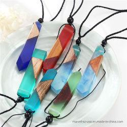 La cadena de cuerda tejida de Regalo de novia colgante Collar Accesorios de moda de joyería