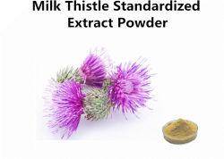 Poeder die van het Uittreksel van de Distel van de melk het Bruinachtige Gele het Vet van het Bloed verminderen