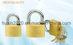GS0021 Candado de bronce con el equipo de latón de alta calidad, Candado de seguridad de la parte superior de Candado de bronce, ISO9001 pasa de Candado de bronce