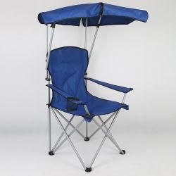 Portable-faltender kampierender Stuhl-Strand-Stuhl mit Kabinendach