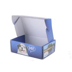 재사용 가능한 포장 상자 공급업체 Lipgloss Paper with 창 지우기