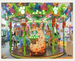 子供の好みの謝肉祭の小型陽気乗車販売のための円形のコンベヤーの遊園地の行く