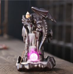 [نورديك] [بتروسور] [لد] مصباح يعكس [إينسنس بورنر], خشب صندل موقد, [سنسر] موقد, بخور ممر, بوذية حلى, البوذيّ, #004