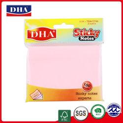 Briefpapier-Handel gebildet China-im kundenspezifischen klebrigen Anmerkungs-Papier (DH-9704)