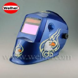 El oscurecimiento automático de soldadura automática casco /moliendo máscara / soldar el capó (WH8711321)