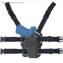 Glock를 위한 전술상 권총휴대 주머니 하락 다리 권총휴대 주머니