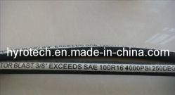 Flexible hydraulique de la norme DIN EN 854 1te Textile Flexible tressé