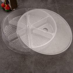 [هيغقوليتي] عادة شفّافة بلاستيكيّة بثرة محارة وعاء صندوق