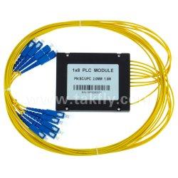 PLC ottico del divisore della fibra di singolo modo del contenitore di ABS 1X 8/16
