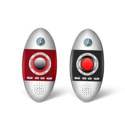 Mini cercatore nascosto dell'obiettivo di macchina fotografica dell'anti rivelatore infrarosso portatile della spia K200 con obbligazione antifurto di corsa dell'allarme di vibrazione della bussola (K200)