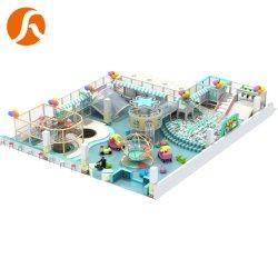 Popolare bambini Soft Play attrezzature commerciali Playhouse plastica Slide bambini Parco giochi al coperto Trampolino