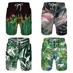 Les lignes de réseau d'alimentation d'usine nager Fashion tissu de polyester d'été s'use de la plage
