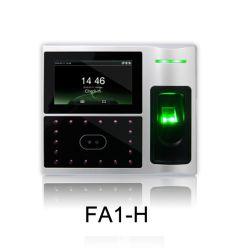 Alta definición incorporada cámaras infrarrojas Control de acceso de huella dactilar biométrica