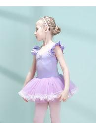 댄스 의류 발레 투투 스커트 댄스 댄스 의상 여학생들이 입는다 뜨개질 댄스 드레스 통기성 유아의류 어린이용 의류 의류 유아용품 마모