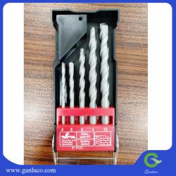 Materiale: C45+Yg8 dimensioni: 4-5-6-8-10mm 5PZ set di punte per muratura con gambo rotondo