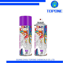 Heißes verkaufendes edles purpurrotes Spray-Lack-chemisches Produkt für Dekoration