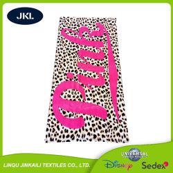 中国製安く昇進の快適なジャカード自然な綿のビーチタオル