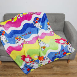 Fertigung von Arten Textilgewebe-Ausgangstextilbett-Blatt-Bettwäsche-der gesetzten polaren Vlies-Baby-Zudecke