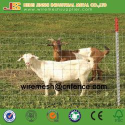 Valla de ganado de galvanizado y articulación del nudo fijo valla valla de malla para animales de campo