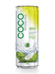 320ml het Water van de Kokosnoot van het Aroma van de citroen & van de Munt