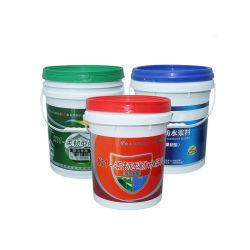 Китайские производители 5 галлон 20 л Открыть головку пластиковые ведра краски ведро ковша