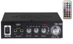 Amplificador digital de calidad Super Karaoke profesional Car Audio con Bluetooth