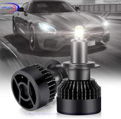 H7 LED Headlight 360 Degree Beam Car LED Headlight 10000lm 35W 6000K (Fan LED LampのCool White) Plug and Play Conversion Kit