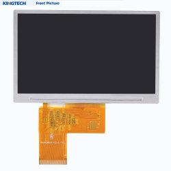 De Leesbare 4.3 Duim 480X272 van Sunglith 12 het Bekijken Uur Vertoning van de Hoek van RGB 800nits Transmissive TFT LCD met Touchscreen