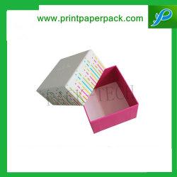 ورق بطاقات صلب مخصص صندوق قطعتين إعداد CD/DVD صندوق التغليف