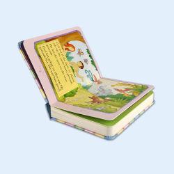 Cobertura rígida com espuma Luxury crianças livro Good Quality
