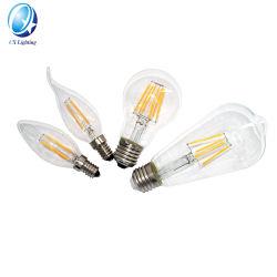 فصيلات LED العتيقة مصباح Globe Edison Light 2200K E27 globular مصباح الإضاءة القديمة A19 T30 T45 St58 St64 G80 G95