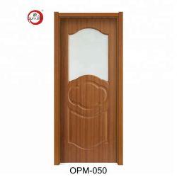 De concurrerende Klassieke Halve Levering voor doorverkoop van de Toegangsdeur van de Schommeling van het Glas van de Deur Prive Lange Doorzichtige Harde Houten Binnenlandse