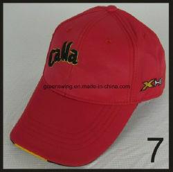 주문을 받아서 만들어진 도매 형식 디자인 자수 골프 모자