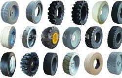 프리미엄 고무 타이어 인도어 타이어 OTR 타이어 기본 공급 500 지게차 트레일러의 스키더 로더 AWP에 사용되는 솔리드 타이어의 크기 다름 공중 리프트 휠 로더