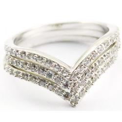 Doce Coração de Fantasia Design Fashion anel de prata para as mulheres